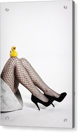 Rubber Duck Acrylic Print by Joana Kruse