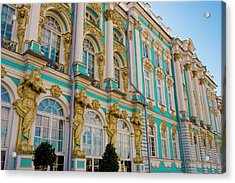 Russia, Pushkin Portion Of Catherine Acrylic Print by Jaynes Gallery