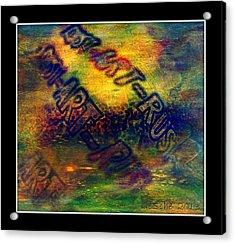 Rust-art 04 Acrylic Print by Gertrude Scheffler