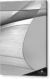 Sailcloth Abstract Number 4 Acrylic Print by Bob Orsillo