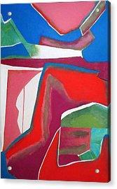 Salsa Acrylic Print by Diane Fine