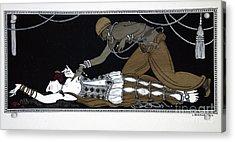 Scheherazade Acrylic Print by Georges Barbier