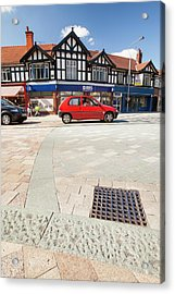 Shared Space In Poynton Acrylic Print by Ashley Cooper