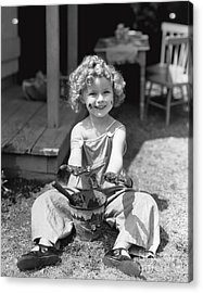 Shirley Temple Acrylic Print by MMG Archives