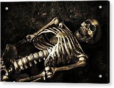 Skeleton  Acrylic Print by Amanda Elwell
