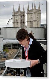 Solar Radiation Monitoring Acrylic Print by Public Health England