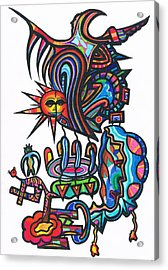 Soul Creatues From Heaven Acrylic Print by Robert Prins