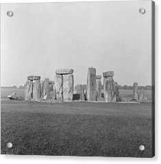 Stonehenge Acrylic Print by Anonymous