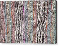 Textile Background Acrylic Print by Tom Gowanlock