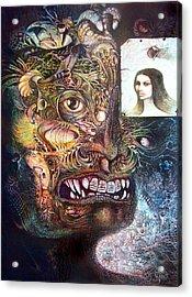 The Beast Of Babylon Acrylic Print by Otto Rapp