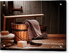 The Old Laundry Acrylic Print by Olivier Le Queinec