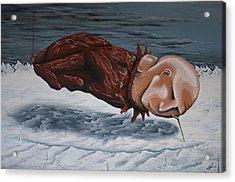 The Rut Acrylic Print by Matthew Blum