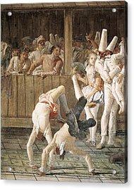 Tiepologiovanni Domenico 1727-1804 Acrylic Print by Everett