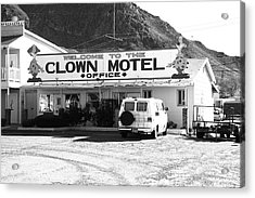 Tonopah Nevada - Clown Motel Acrylic Print by Frank Romeo