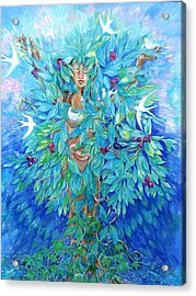 Tree Of Life  Acrylic Print by Trudi Doyle