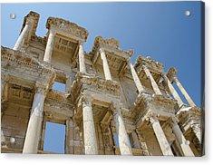 Turkey, Ephesus Celsus Library, Built Acrylic Print by Cindy Miller Hopkins