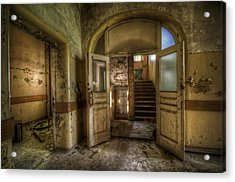 Two Doors Acrylic Print by Nathan Wright