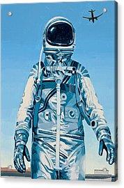 Under The Flight Path Acrylic Print by Scott Listfield