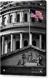 United State Capitol Building Acrylic Print by Lane Erickson