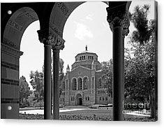 University Of California Los Angeles Powell Library Acrylic Print by University Icons