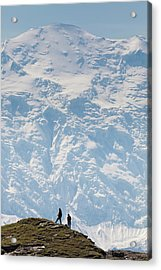 Usa, Alaska, Denali National Park Acrylic Print by Hugh Rose