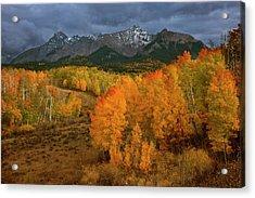 Usa, Colorado, Sneffels Range Acrylic Print by Jaynes Gallery