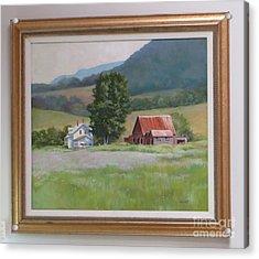Vermont  Summer Farm Acrylic Print by Karol Wyckoff