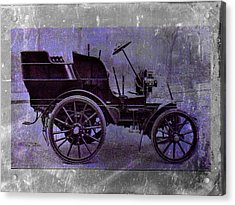 Vintage Car Acrylic Print by David Ridley