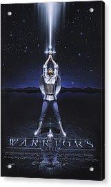 Warriors Creed Acrylic Print by Cliff Hawley