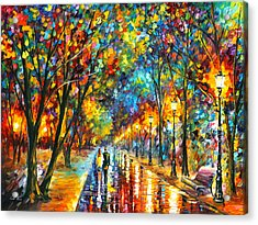 When Dreams Come True Acrylic Print by Leonid Afremov