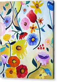 Wildflowers Acrylic Print by Venus