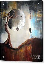 Wishing Tree By Shawna Erback Acrylic Print by Shawna Erback
