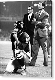 Y.a. Tittle Acrylic Print by Retro Images Archive