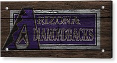 Arizona Diamondbacks Acrylic Print by Joe Hamilton