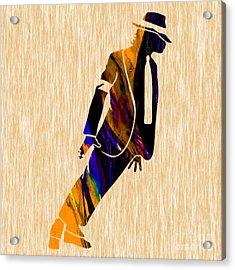 Michael Jackson  Acrylic Print by Marvin Blaine