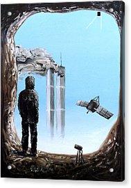 2012-confronting Inevitability Acrylic Print by Ryan Demaree