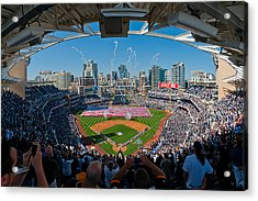 2013 San Diego Padres Home Opener Acrylic Print by Mark Whitt