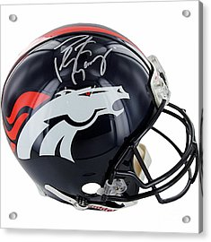 2014 Super Bowl Broncos Acrylic Print by Marvin Blaine
