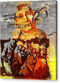 20th Century Depression Acrylic Print by Jeff Burgess