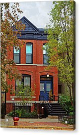 22 W Eugenie St Old Town Chicago Acrylic Print by Christine Till