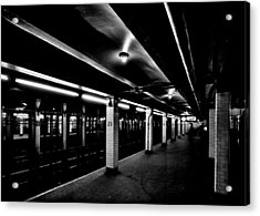 23rd Street Station Acrylic Print by Benjamin Yeager