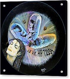 Michael Jackson Acrylic Print by Augusta Stylianou