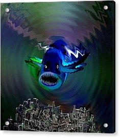 278 -   The Custodian Of Atlantis Acrylic Print by Irmgard Schoendorf Welch