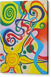 2artists Acrylic Print by Sven Fischer