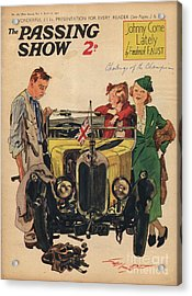 1930s,uk,passing Show,magazine Cover Acrylic Print by The Advertising Archives
