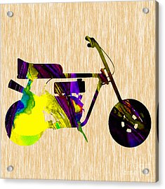 1960s Mini Bike Acrylic Print by Marvin Blaine