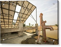 A Wwf Project To Supply Electricity Acrylic Print by Ashley Cooper