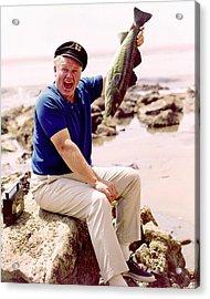 Alan Hale Jr. In Gilligan's Island  Acrylic Print by Silver Screen