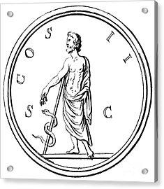 Asklepios Acrylic Print by Granger
