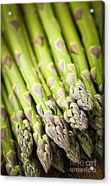 Asparagus Acrylic Print by Elena Elisseeva